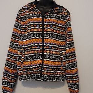 Topman polyester bummer jacket size small